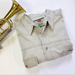 Vintage Levi's Working Man Button Down Shirt